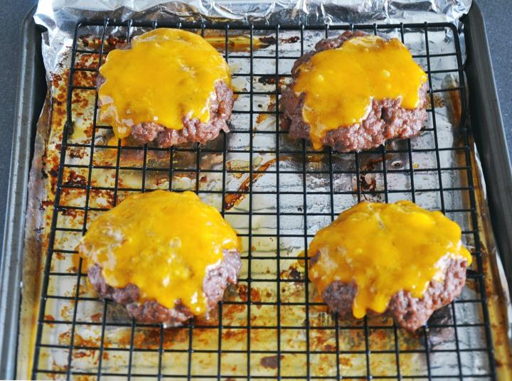Bleu Cheese Bacon Burgers